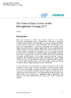 Intel & Siemens Health Management Survey