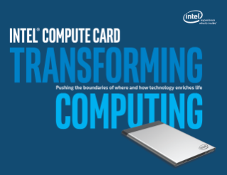 Product Brief: Intel® Compute Card