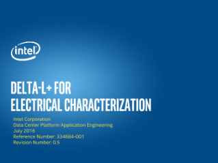 Delta-L+ for Electrical Characterization
