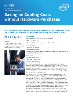 Saving on Cooling Costs without Hardware Purchases