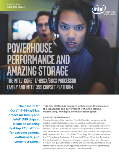 Powerhouse Performance and Maximum Storage