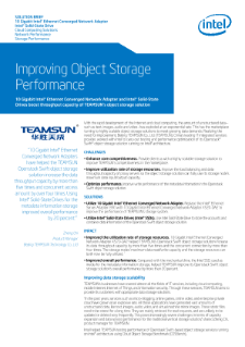 Improving Object Storage Performance