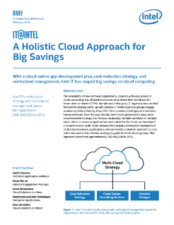 Big Savings on Cloud Computing