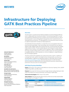 Infrastructure for GATK* Best Practices Pipeline Deployment