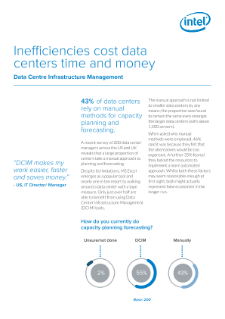 Redshift Survey: Intel® Data Center Manager Improves Efficiency