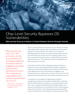 Chip-Level Security Bypasses OS Vulnerabilities