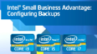 How to Configure Backups in Intel® Small Business Advantage